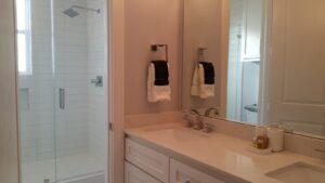 Bathroom 4: bathroom with a double vanity