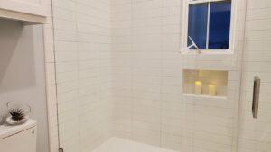 Bathroom 4: walk-in shower